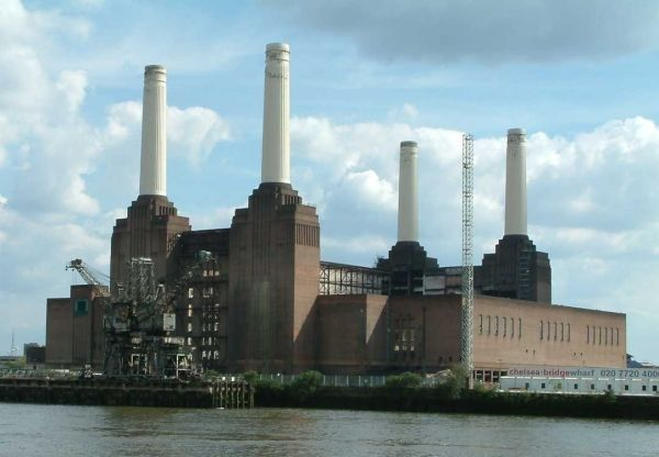 Police to use Battersea power station site