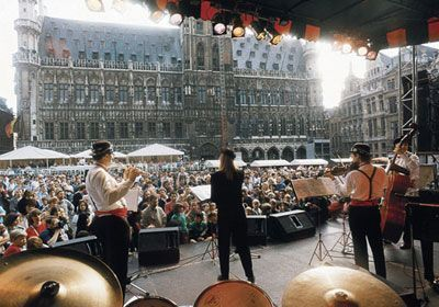 Jazz Marathon in Brussels