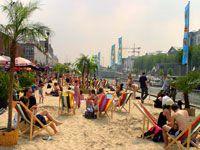 Brussels Beach opens