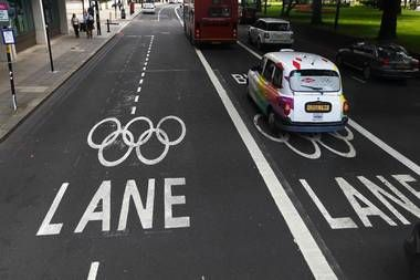 London finalises Olympic Route Network