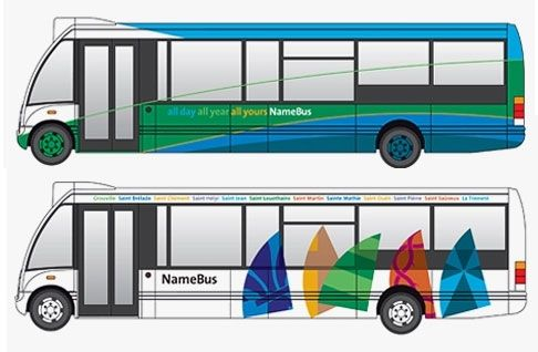 Design for Jersey's new bus service