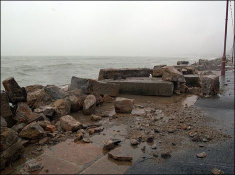Jersey plans flood defences