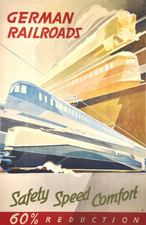 Safety, Speed, Comfort. Exquisite Vintage Travel posters 1920-1950