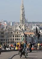 Car-free Sunday in Brussels