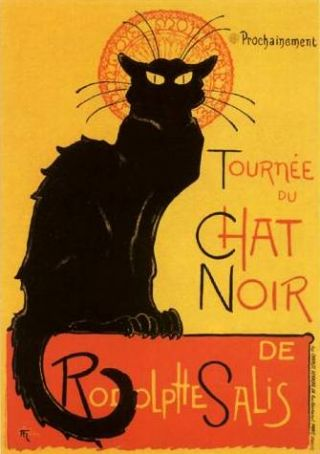 Autour de Chat Noir