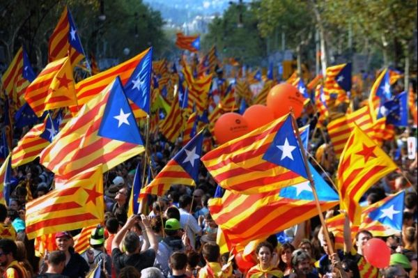 Catalonia rallies for independence from Spain
