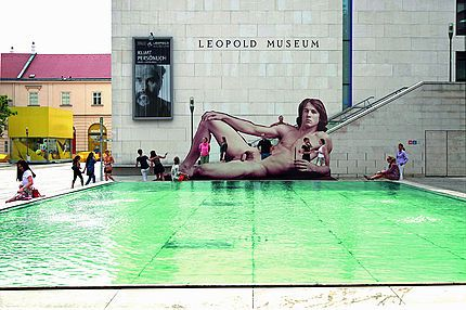 Vienna's naked men