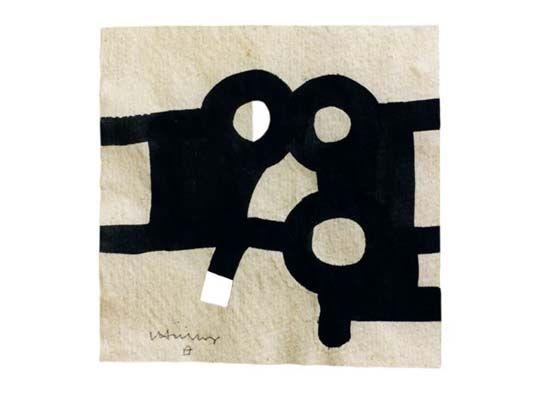 Eduardo Chillida: La tinta pesa