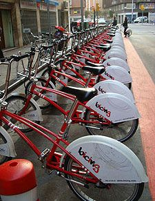 New prices for Bicing in Barcelona
