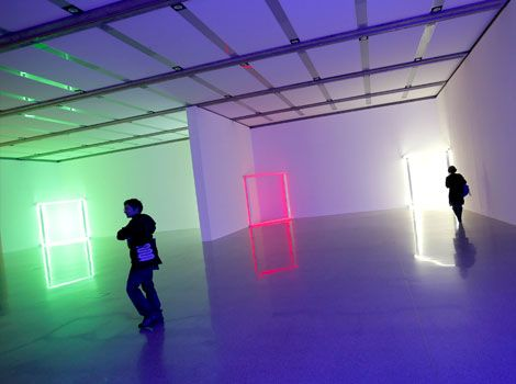 Dan Flavin: Lights