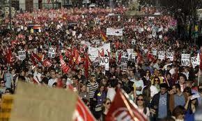 Strikes in Spain