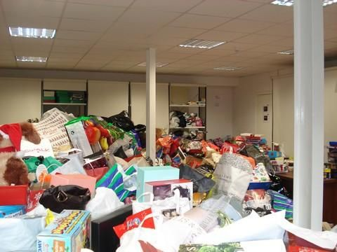Appeal for unwanted presents in Dublin