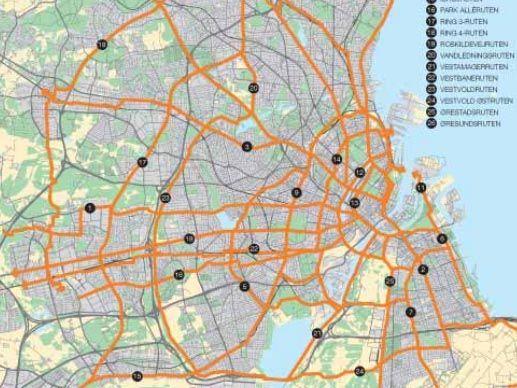 Copenhagen opens second cycle superhighway