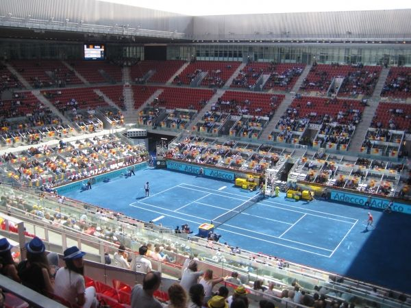 Mutua Madrid Open gives up blue clay