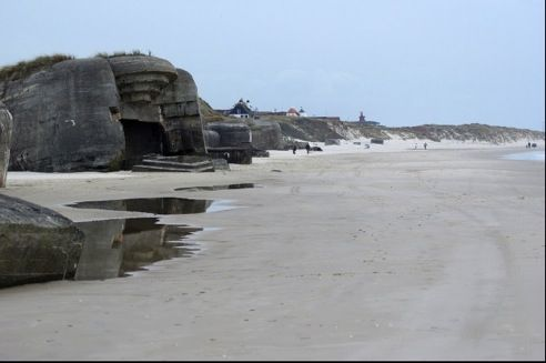 Denmark demolishes dangerous Nazi bunkers