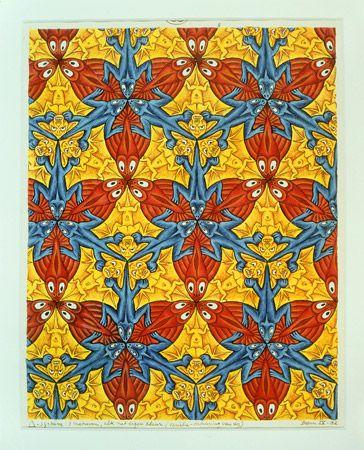 Escher Meets Islamic Art