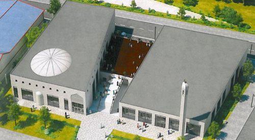 Copenhagen gets first minaret