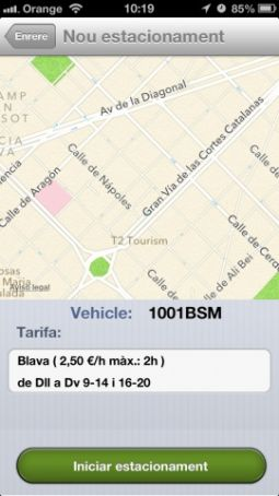Barcelona rolls out parking apps