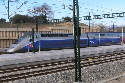 Barcelona to Paris via TGV