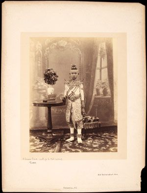 Royalty and Religion: Photographs of Late Nineteenth-Century Thailand