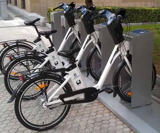 Madrid bike sharing scheme
