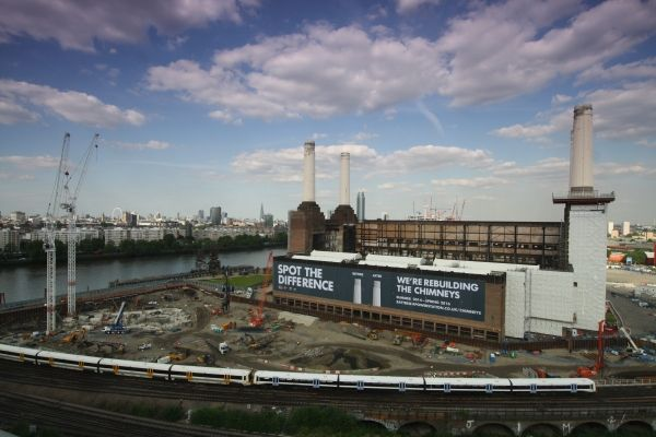 Battersea power station summer season