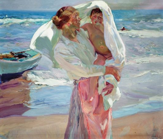 Sorolla: El color del mar