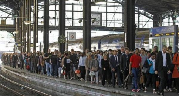 French rail strike