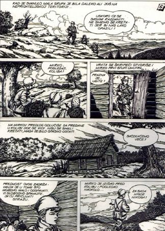 100 years in the Balkans. The comic strip in resistance