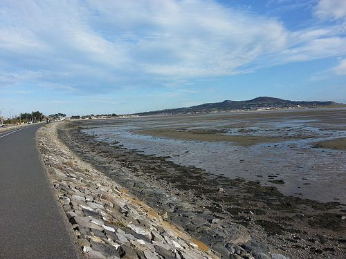 New cycle path at Dublin Bay