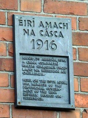 Irish state buys Easter Rising site
