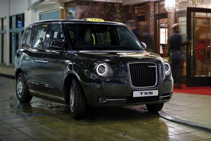 London taxis get new look
