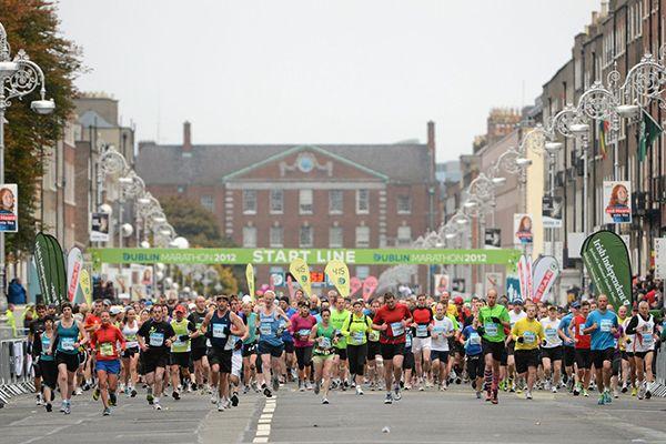 Dublin marathon fourth largest in Europe