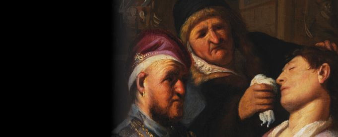 Sensation: Rembrandt's First Paintings