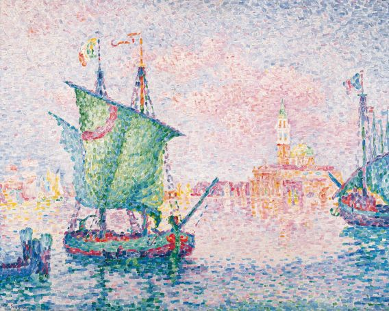Seurat, Signac, Van Gogh: Ways of Pointillism