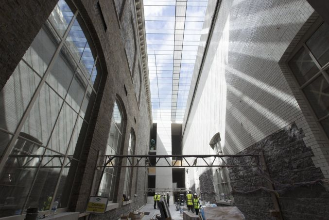 Expanded National Gallery reopens in Dublin