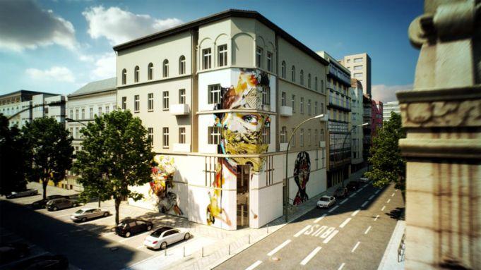Berlin to open street art museum