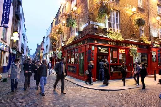 Dublin hotel room rates at record levels