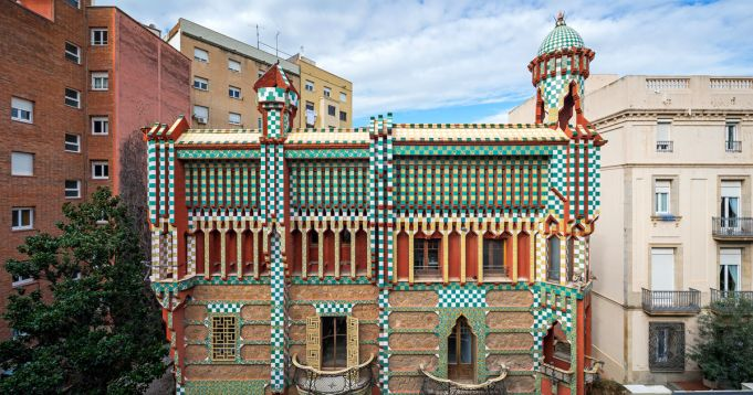 New Gaudí house museum in Barcelona