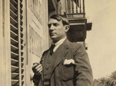 Picasso in Barcelona 1917