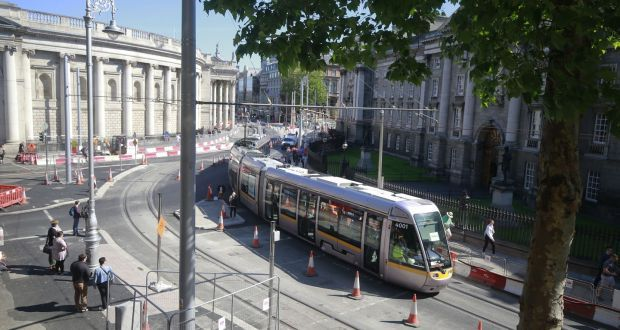 Dublin Cross City tram line to open on 9 December