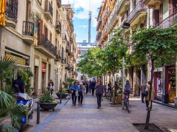Gràcia neighborhood