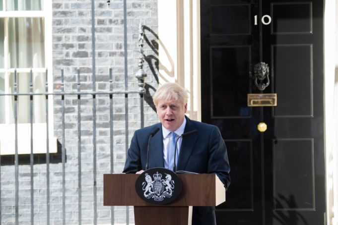 Uk Prime Minister Boris Johnson announces lockdown