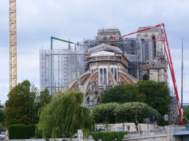 Notre Dame could have new furniture and stained glass windows