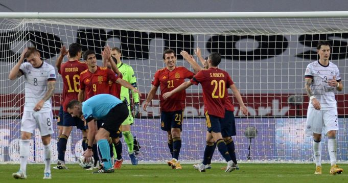 Spain defeat Germany 6-0 in Seville