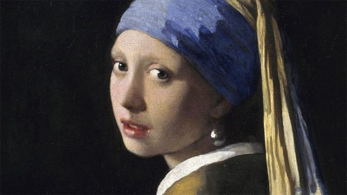 The girl with the pearl earring as you've never seen her before