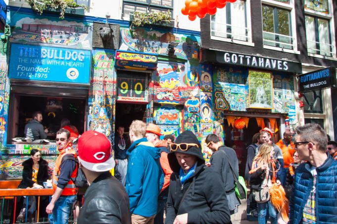 Famous Amsterdam Bulldog coffeeshop