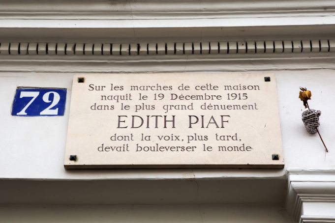 The house- museum of Édith Piaf