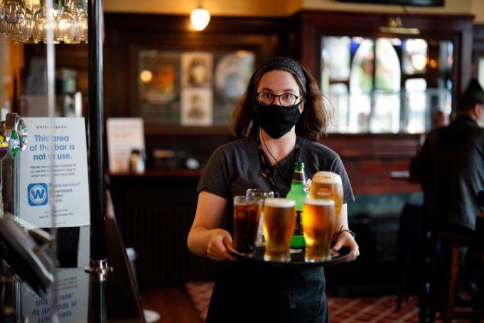 Celebrations across the UK as coronavirus lockdowns ease