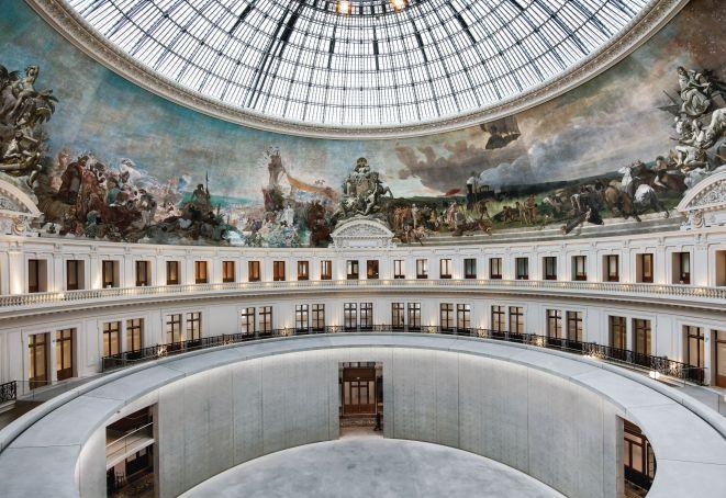 Former Bourse de Commerce becomes an art museum